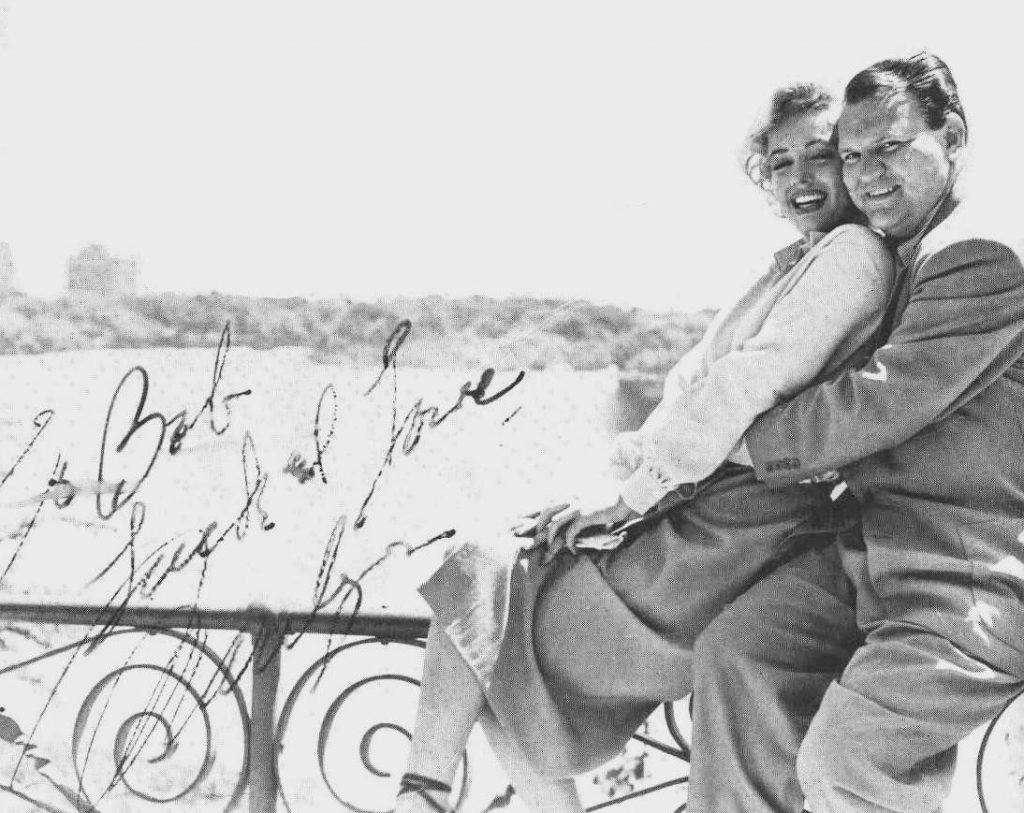 Marilyn Monroe and Robert Slatzer